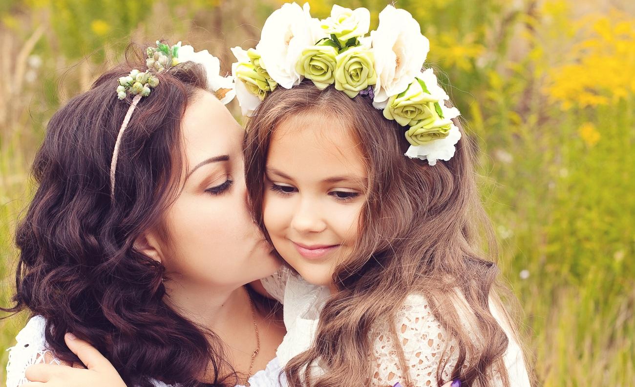 С мамой в 5 фотография